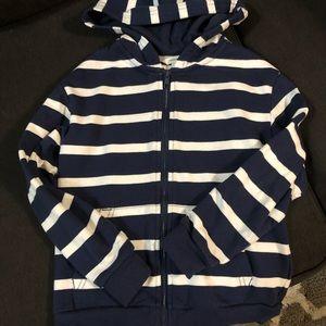 H&M Stripe Hoodie